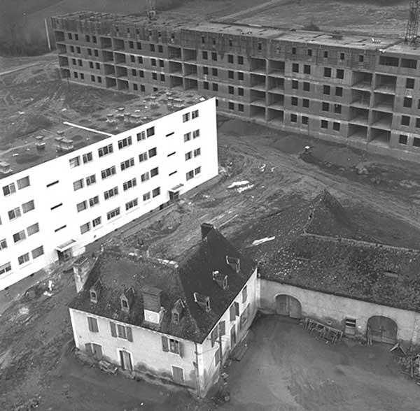 Construction de la ville de Mourenx