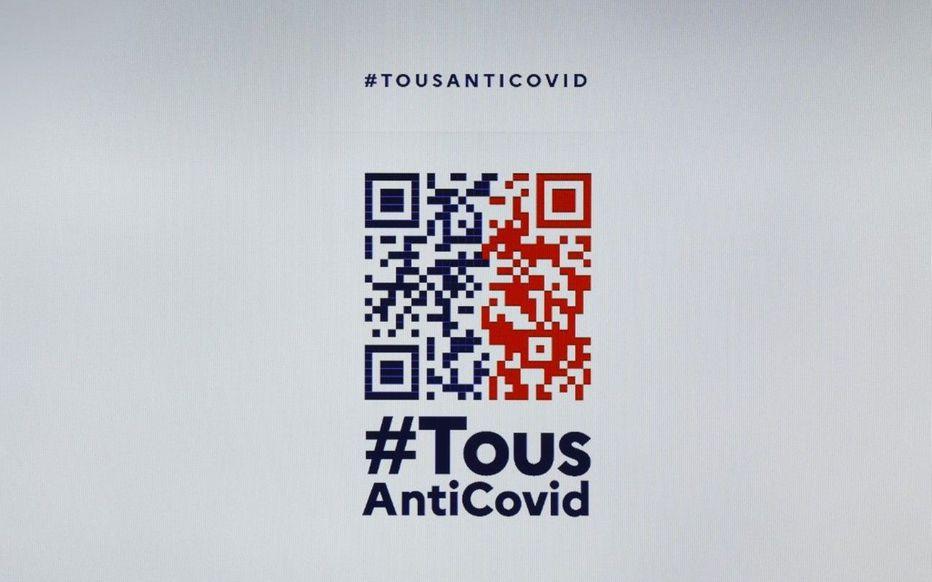 QR CODE TousAntiCovid