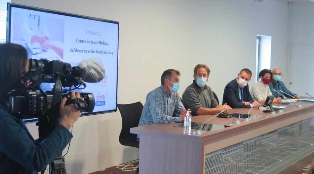 Conférence de presse Centre de Santé Mourenx
