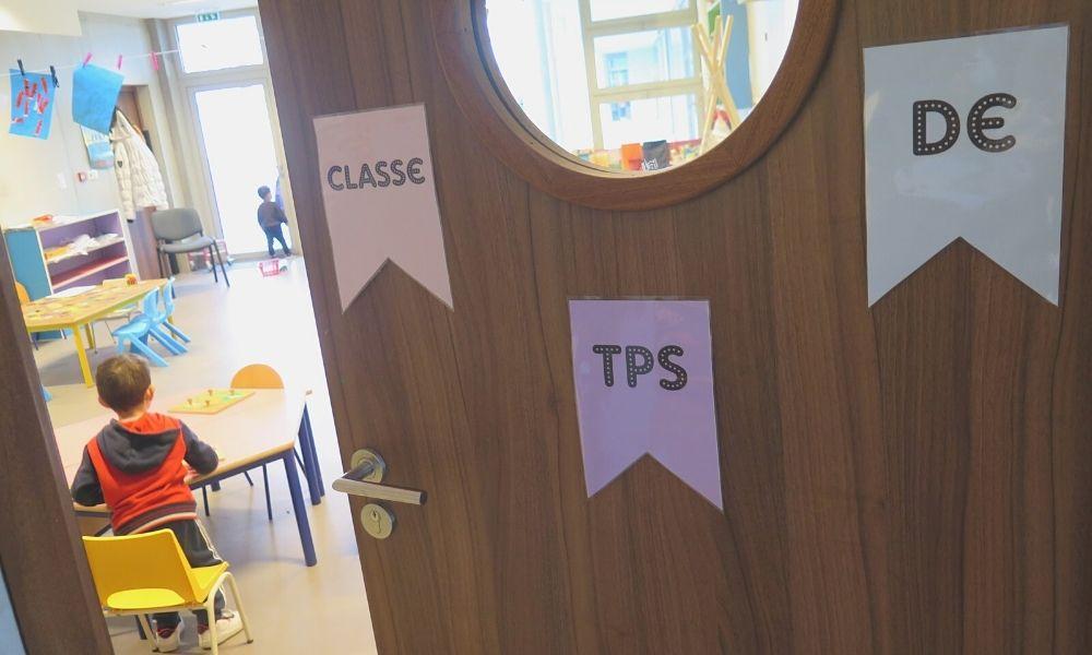 Classe de Toute Petite Section école Kergomard à Mourenx