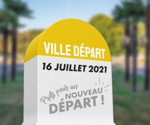 Lancement du Tour de France à Mourenx