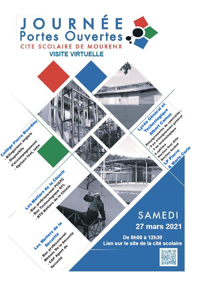 Portes Ouvertes 2021 à la Cité Scolaire