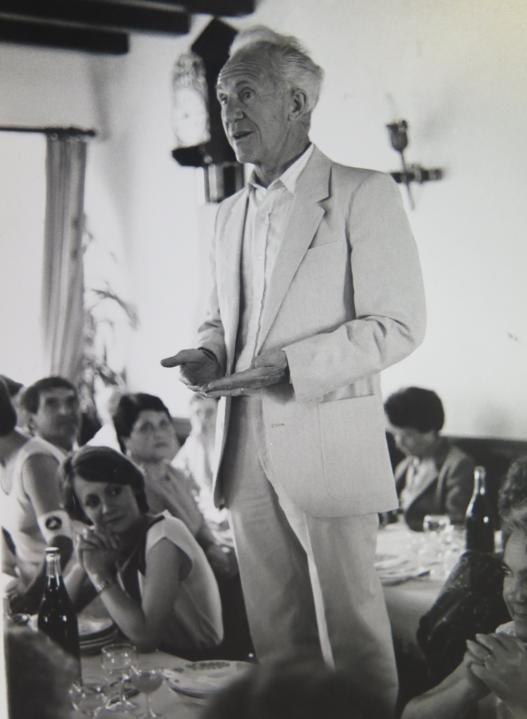 André CAZETIEN, ancien maire de Mourenx (1977-1995)