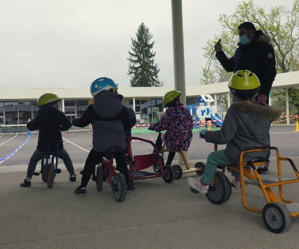 Atelier vélo école Kergomard - Tour de France
