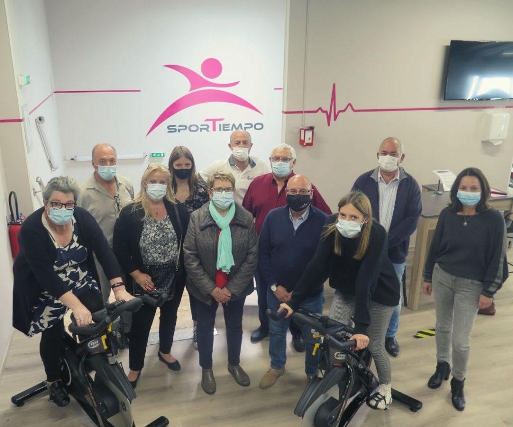 Ce défi est organisé grâce au soutien de la salle SPORTIEMPO à Artix qui va prêter les vélos.