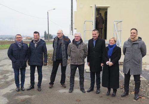 Mourenx a accueilli l'un des premiers NRO sur le département